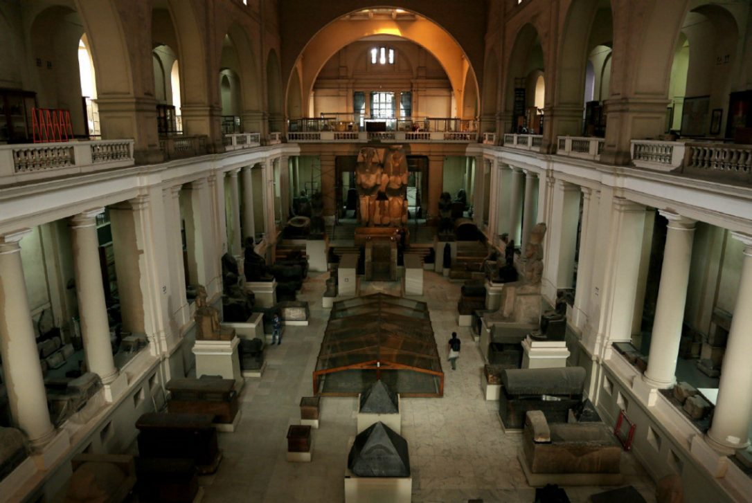 The Museum Houses the Treasures of Egypt