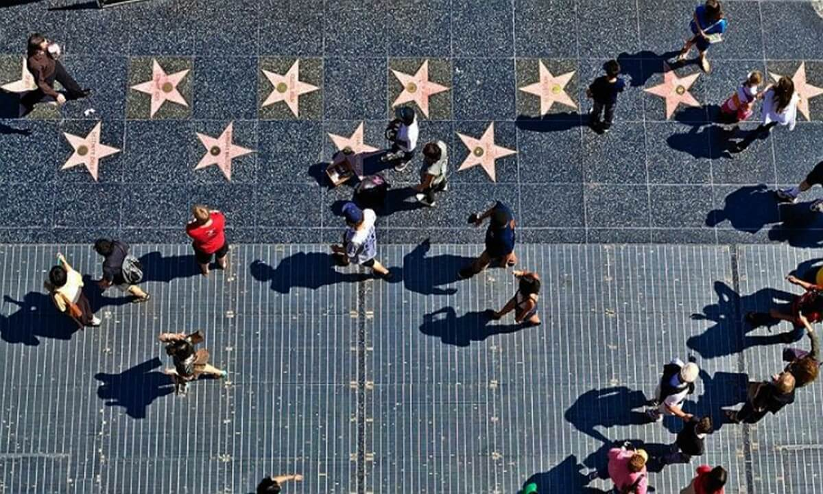 Hollywood Walk of Fame - Recognized as one of the top attractions in Los Angeles