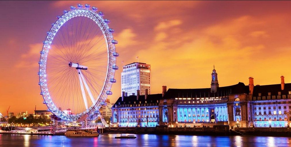 London, a great place for honeymoon trip
