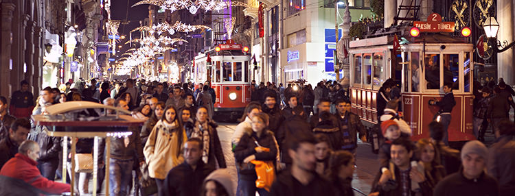 Celebrate Christmas Day 2018 in Istanbul