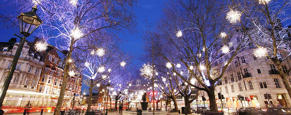 Celebrate Christmas Day 2018 in London