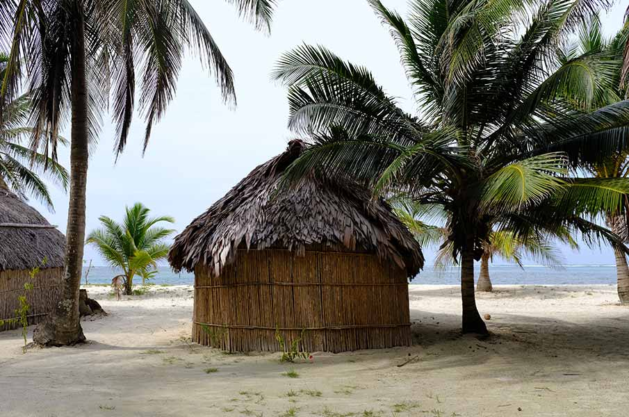 Cabana made by Guna Yala
