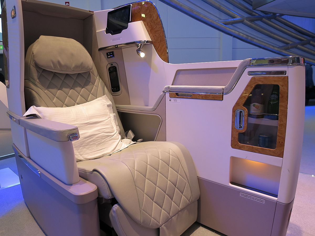 Business Class Emirates Airlines