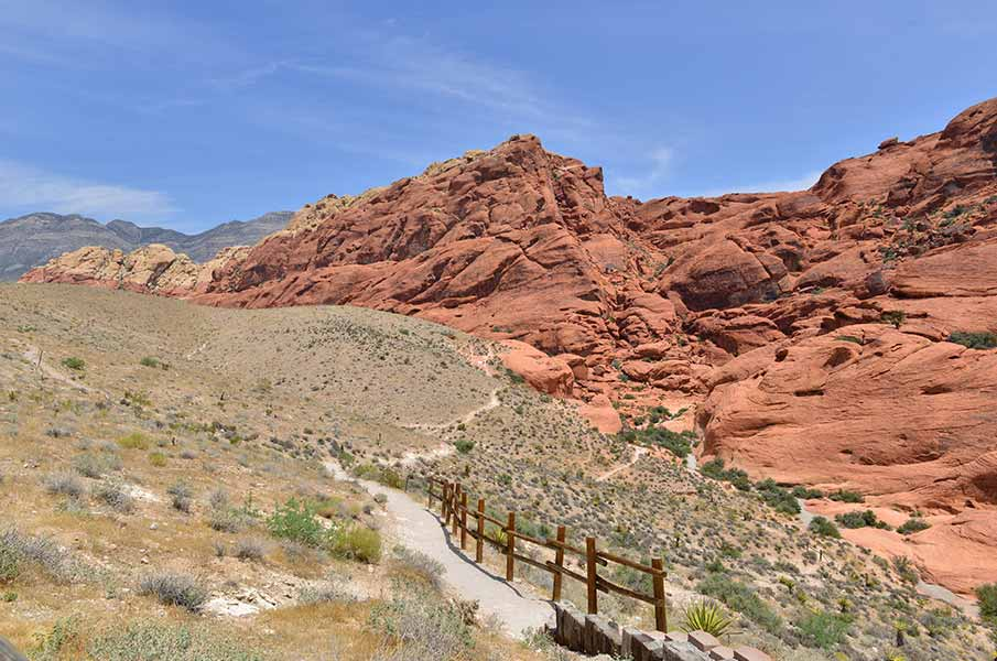 Red Rock Canyon in Nevada, USA