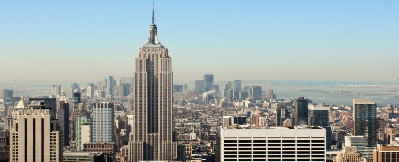 Empire State Building in Manhattan, New York City