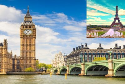 Best Time to Visit London and Paris