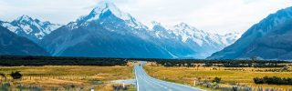 Mt cook. Christchurch, New Zealand