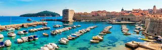 Beautiful Old town of Dubrovnik