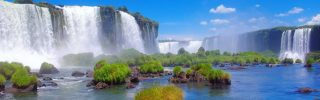 Beautiful Iguazu Waterfall, Argentina