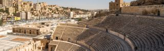 Theatre in Jordan's capital Amman