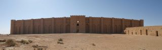 Abbasid palace of Ukhaider, Karbala, Iraq