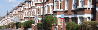 Typical English Houses in London