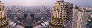Condominium Tower In Bangkok, Thailand