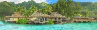 Beautiful travel destination in Papeete, French Polynesia